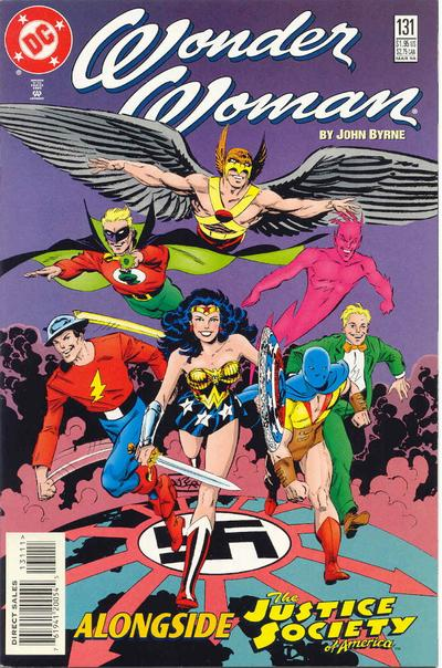 Cover for Wonder Woman (DC, 1987 series) #131