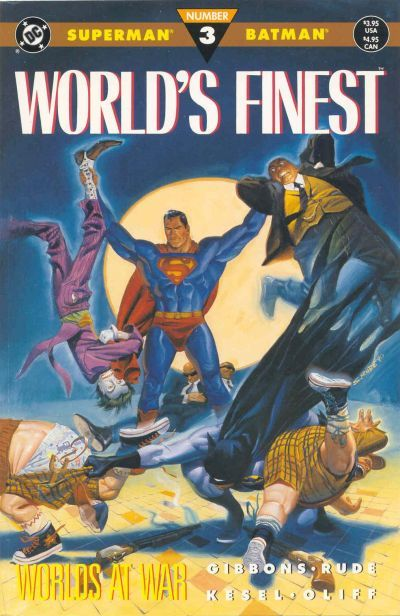 Cover for World's Finest (DC, 1990 series) #3