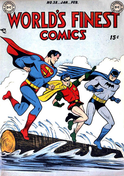 Cover for World's Finest Comics (DC, 1941 series) #38