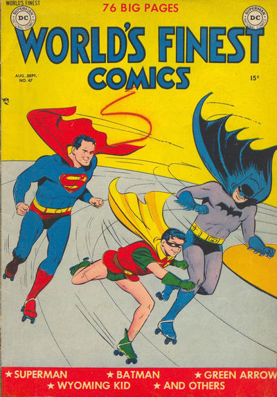 Cover for World's Finest Comics (DC, 1941 series) #47
