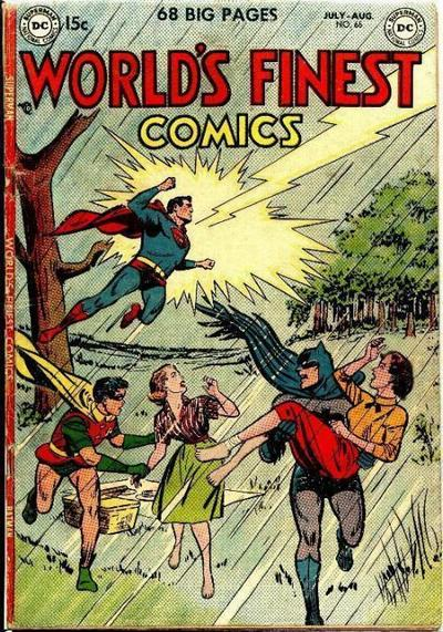 Cover for World's Finest Comics (DC, 1941 series) #65