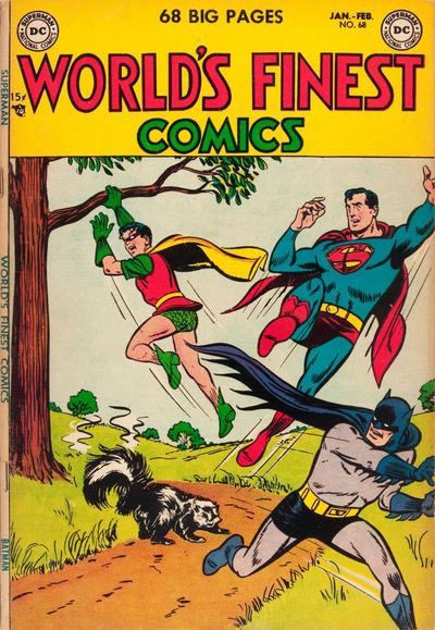 Cover for World's Finest Comics (DC, 1941 series) #68