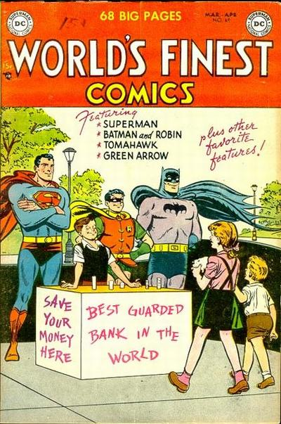 Cover for World's Finest Comics (DC, 1941 series) #69
