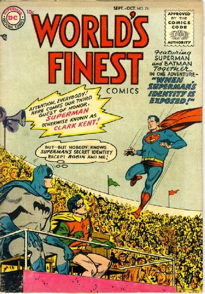 Cover for World's Finest Comics (DC, 1941 series) #78