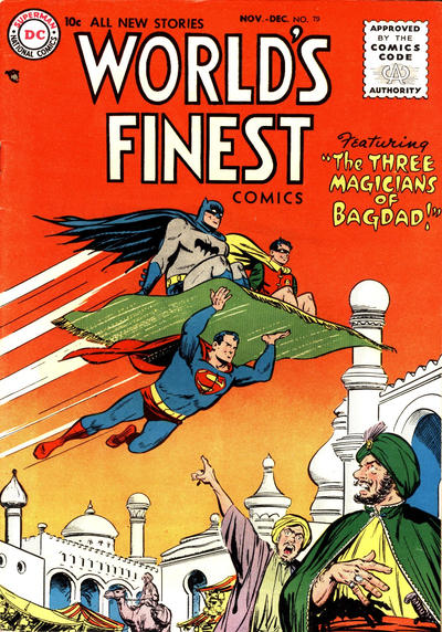 Cover for World's Finest Comics (DC, 1941 series) #79