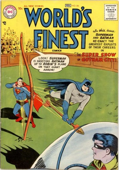 Cover for World's Finest Comics (DC, 1941 series) #86