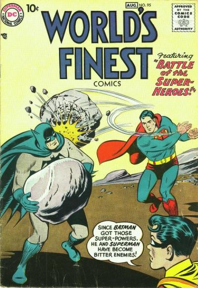 Cover for World's Finest Comics (DC, 1941 series) #95
