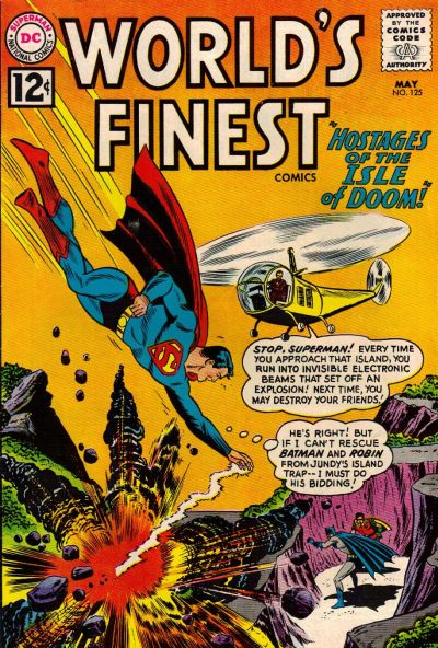 Cover for World's Finest Comics (DC, 1941 series) #125