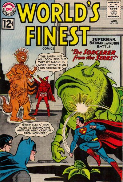 Cover for World's Finest Comics (DC, 1941 series) #127