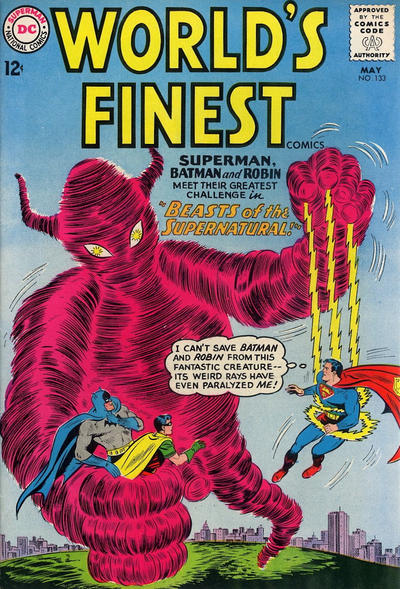Cover for World's Finest Comics (DC, 1941 series) #133