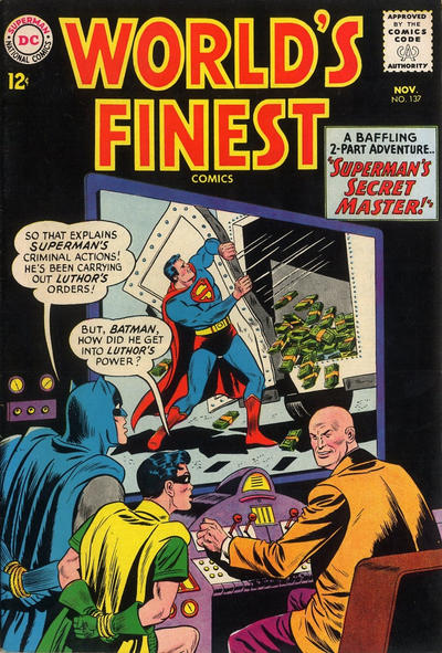 Cover for World's Finest Comics (DC, 1941 series) #137