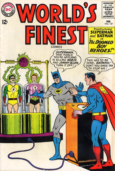 Cover for World's Finest Comics (DC, 1941 series) #147