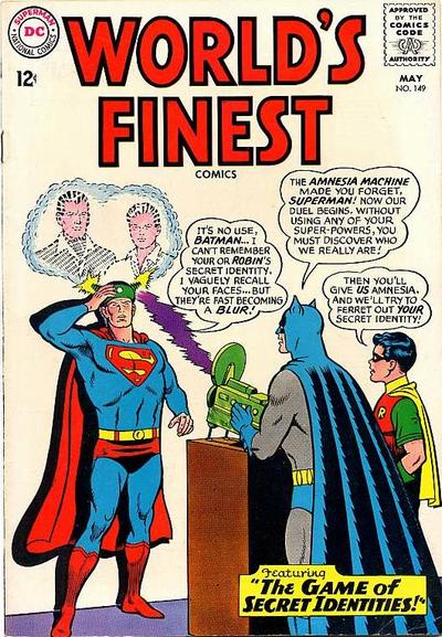 Cover for World's Finest Comics (DC, 1941 series) #149