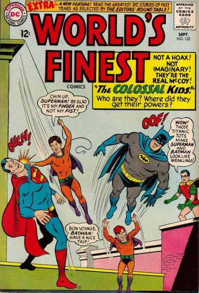 Cover for World's Finest Comics (DC, 1941 series) #152