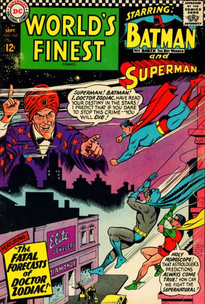 Cover for World's Finest Comics (DC, 1941 series) #160