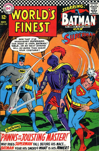 Cover for World's Finest Comics (DC, 1941 series) #162