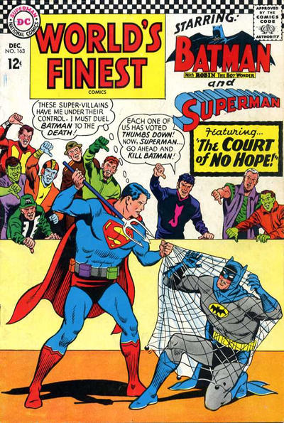 Cover for World's Finest Comics (DC, 1941 series) #163