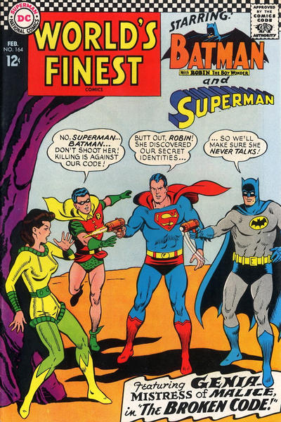Cover for World's Finest Comics (DC, 1941 series) #164