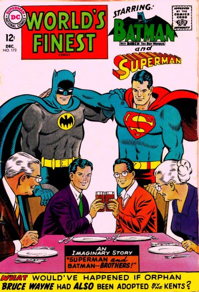Cover for World's Finest Comics (DC, 1941 series) #172