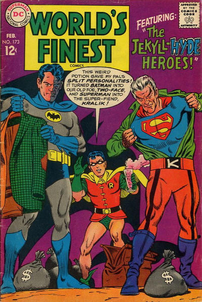 Cover for World's Finest Comics (DC, 1941 series) #173