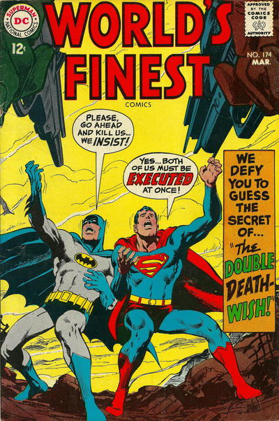 Cover for World's Finest Comics (DC, 1941 series) #174