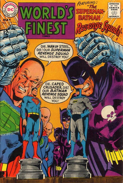 Cover for World's Finest Comics (DC, 1941 series) #175