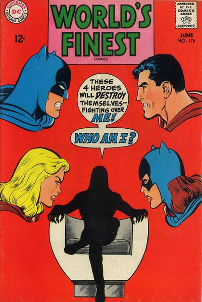 Cover for World's Finest Comics (DC, 1941 series) #176