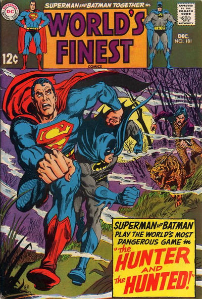 Cover for World's Finest Comics (DC, 1941 series) #181