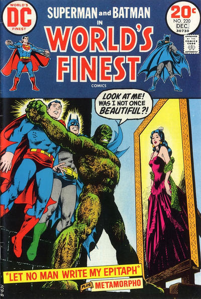 Cover for World's Finest Comics (DC, 1941 series) #220