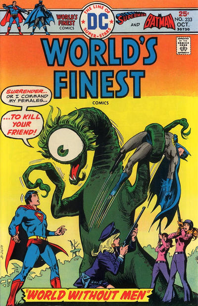 Cover for World's Finest Comics (DC, 1941 series) #233