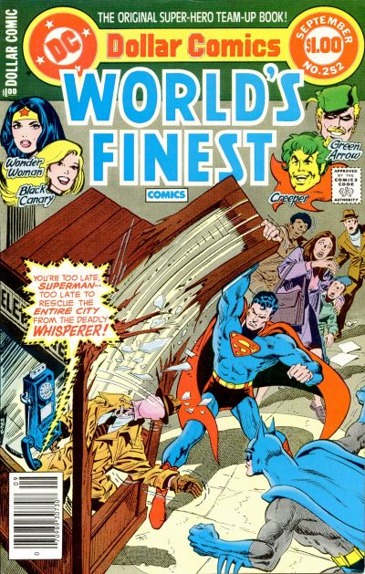 Cover for World's Finest Comics (DC, 1941 series) #252