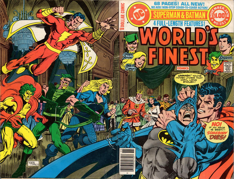 Cover for World's Finest Comics (DC, 1941 series) #253