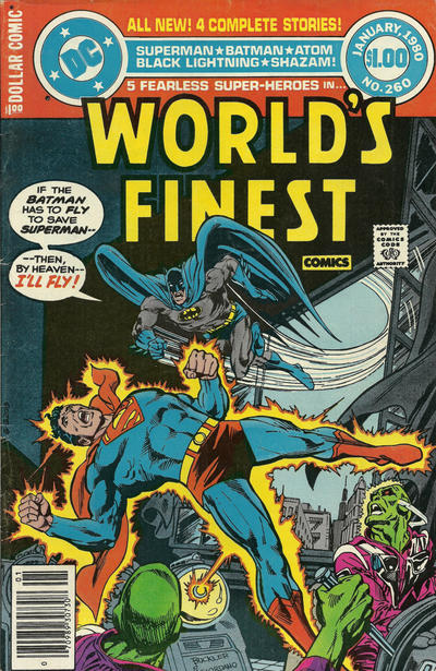 Cover for World's Finest Comics (DC, 1941 series) #260