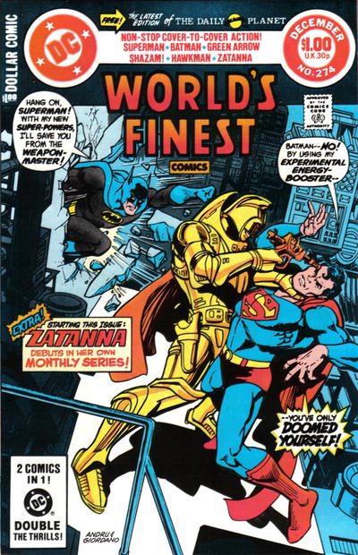 Cover for World's Finest Comics (DC, 1941 series) #274 [Direct]