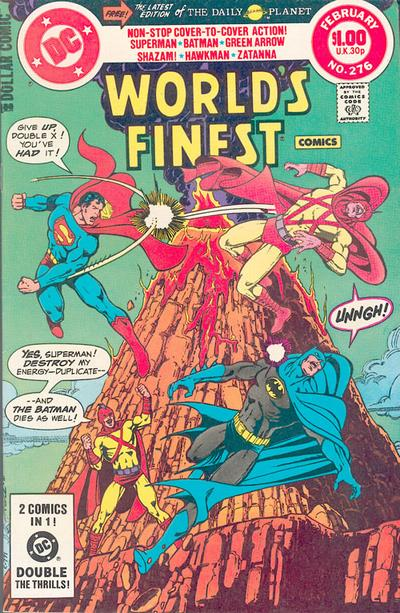 Cover for World's Finest Comics (DC, 1941 series) #276 [Direct]