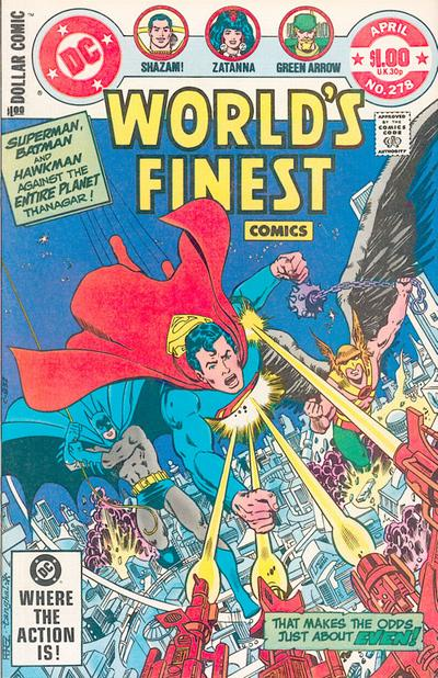 Cover for World's Finest Comics (DC, 1941 series) #278 [Direct]