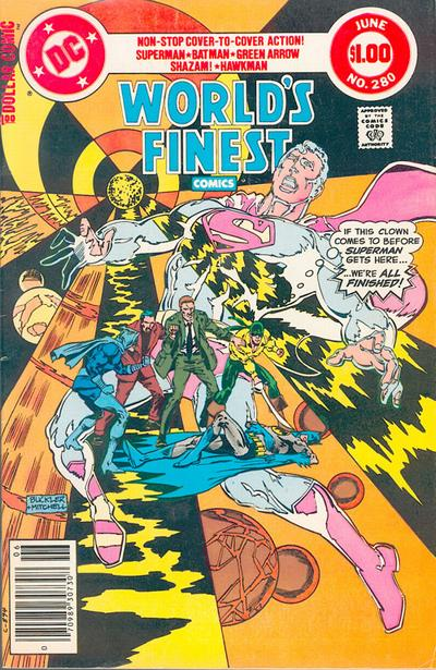 Cover for World's Finest Comics (DC, 1941 series) #280 [Newsstand]