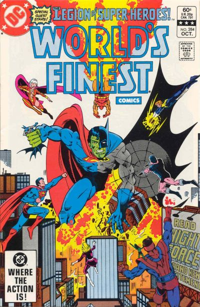 Cover for World's Finest Comics (DC, 1941 series) #284 [Direct]