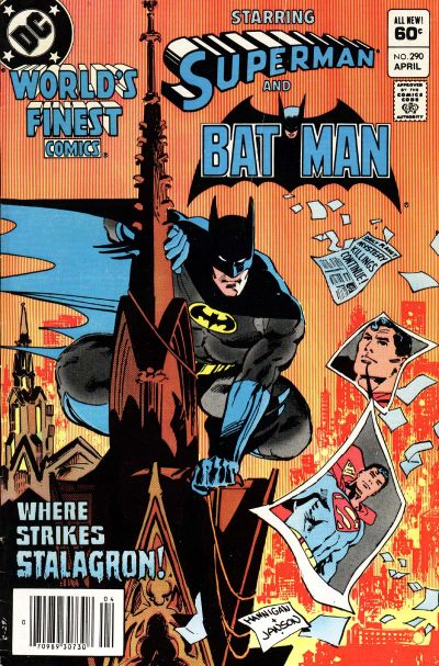 Cover for World's Finest Comics (DC, 1941 series) #290 [Newsstand]