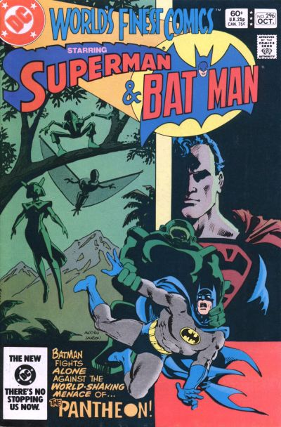 Cover for World's Finest Comics (DC, 1941 series) #296 [Canadian]