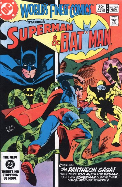 Cover for World's Finest Comics (DC, 1941 series) #297 [Canadian]