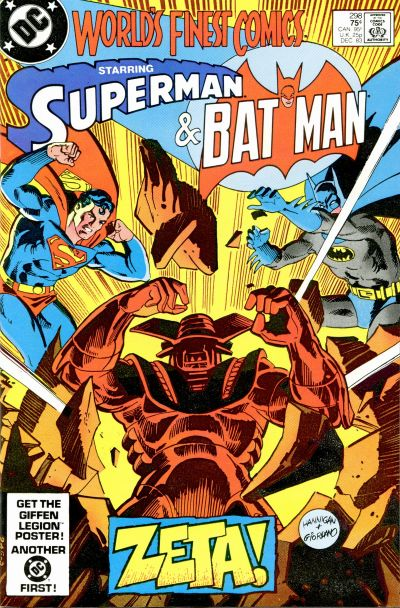 Cover for World's Finest Comics (DC, 1941 series) #298 [Newsstand]