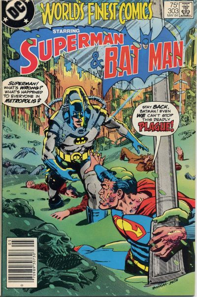 Cover for World's Finest Comics (DC, 1941 series) #303 [Direct]