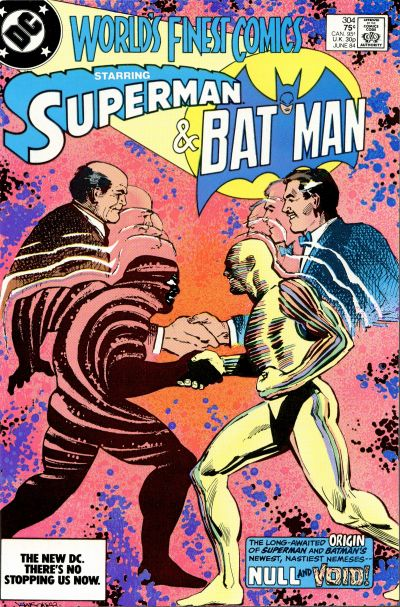 Cover for World's Finest Comics (DC, 1941 series) #304 [Newsstand]