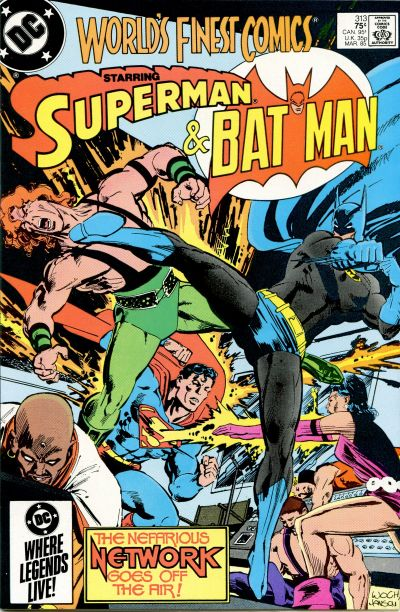Cover for World's Finest Comics (DC, 1941 series) #313 [Newsstand]