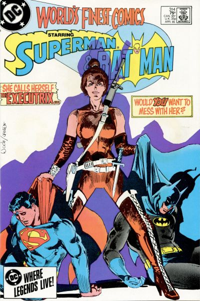 Cover for World's Finest Comics (DC, 1941 series) #314 [Newsstand]