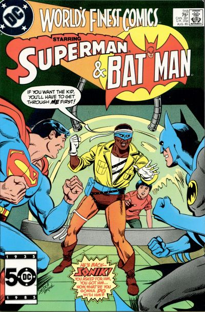 Cover for World's Finest Comics (DC, 1941 series) #318 [Direct]