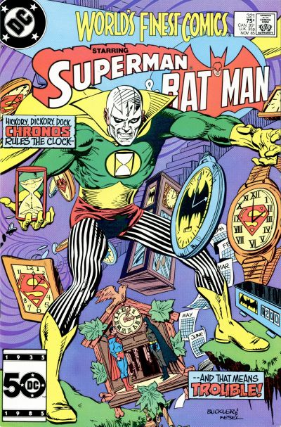 Cover for World's Finest Comics (DC, 1941 series) #321 [Newsstand]