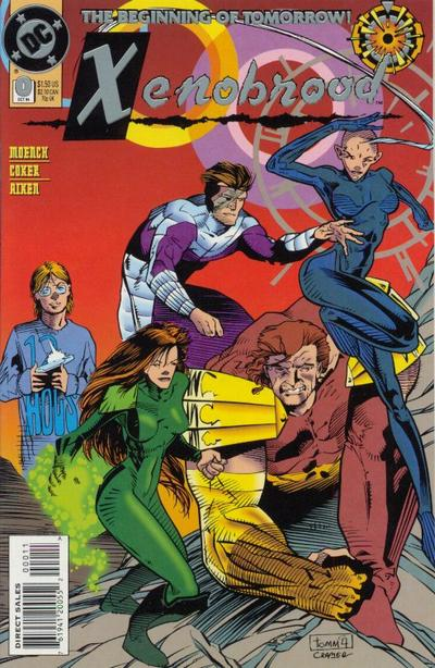 Cover for Xenobrood (DC, 1994 series) #0