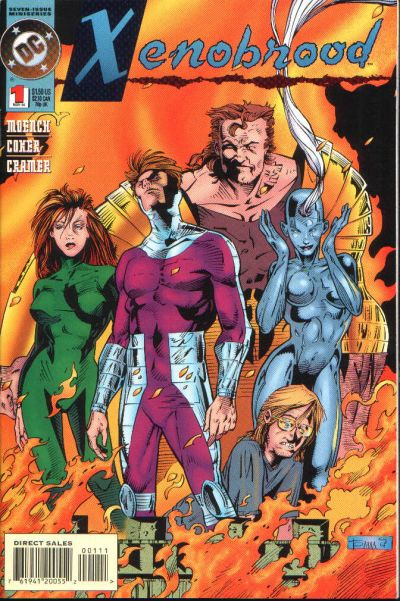 Cover for Xenobrood (DC, 1994 series) #1